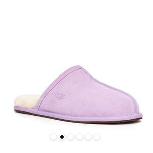 UGG PEARLE SLIPPERS LILAC SIZE 7 NEW!